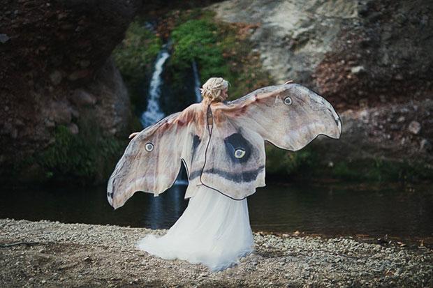 ผ้าคลุมลายปีกผีเสื้อ