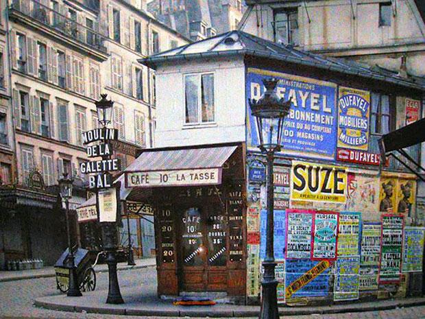 ภาพกรุงปารีส 100 ปีก่อน