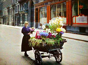 ภาพสีหายากของปารีสเมื่อ 100 ปีก่อน