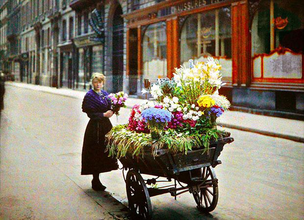 ภาพสีหายากของมหานครปารีสเมื่อ 100 ปีก่อน