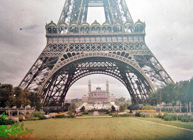 ภาพสีหายากของมหานครปารีส