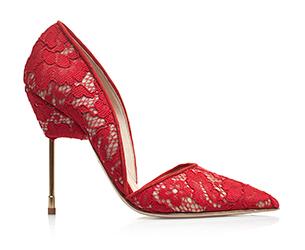 รองเท้า Kurt Geiger Bond สีแดง