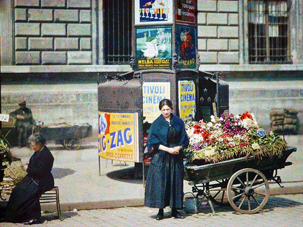 รูปภาพกรุงปารีส 100 ปีก่อน