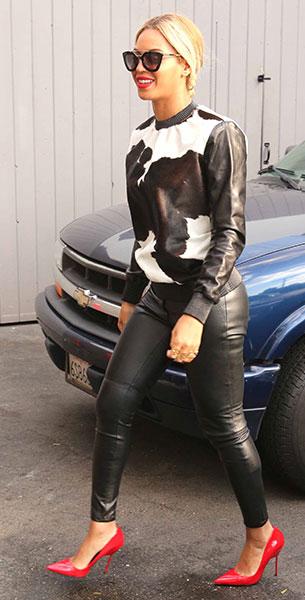 Beyonce รองเท้า Kurt Geiger