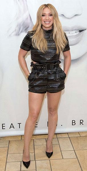 Hilary Duff รองเท้า Kurt Geiger