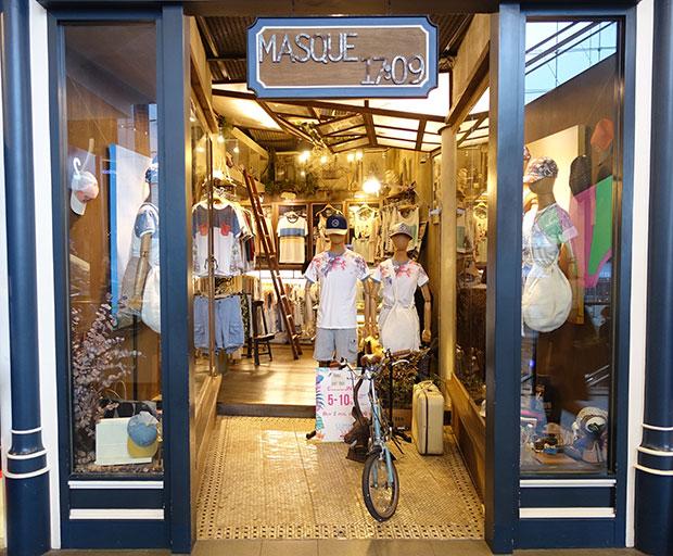 MASQUE 17 09  ร้านมาแรงฝืมือการออกแบบของคนไทย