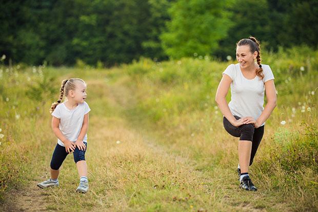 ออกกำลังกายสไตล์คุณแม่กับการเดิน 10,000 ก้าว