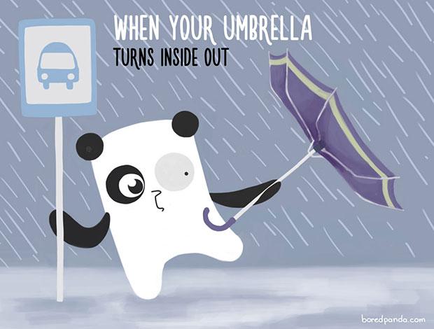 ตอนที่ร่มของคุณพลิกไปอีกด้าน