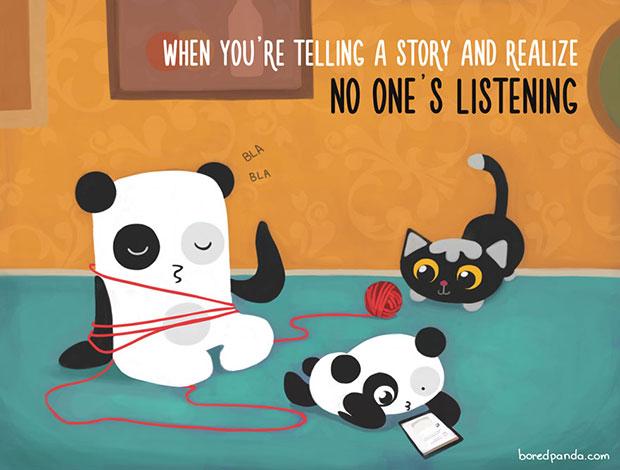 ตอนที่เล่าเรื่องแล้วไม่มีใครฟัง