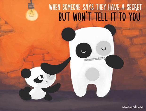 ตอนที่ใครสักคนบอกว่ามีความลับแต่ไม่เล่าให้คุณฟัง