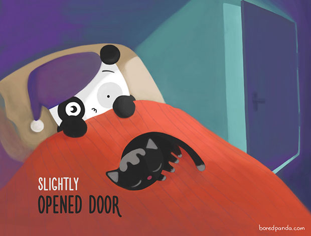 ประตูแง้มนิดๆ