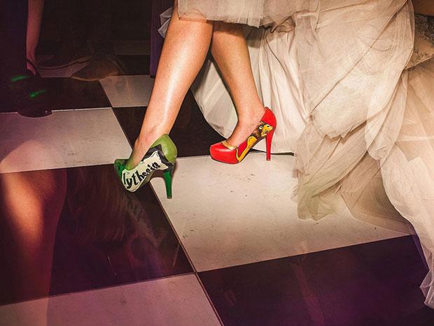 รองเท้านแต่งงานธีม แฮร์รี่ พอตเตอร์