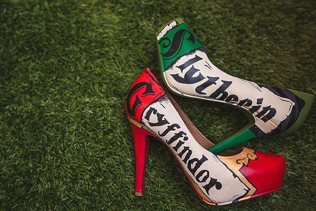รองเท้าใยงานแต่งงานธีม แฮร์รี่ พอตเตอร์