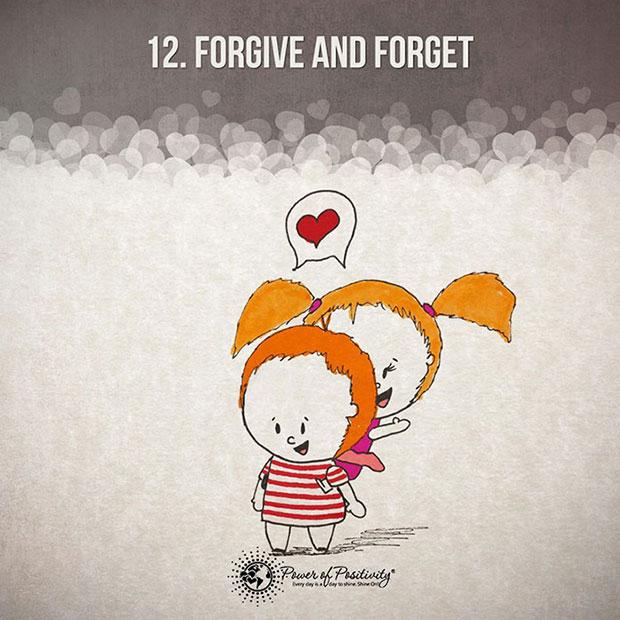 รู้จักลืมและให้อภัย