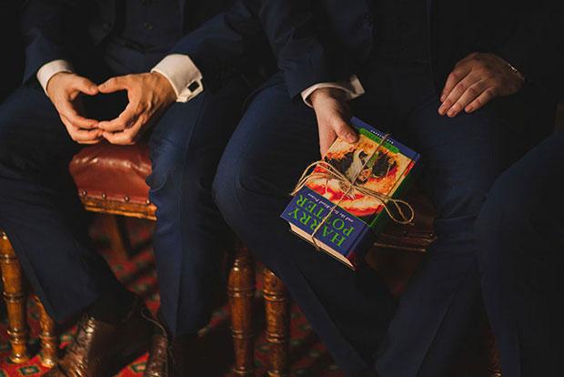 หมอนรองแหวนเป็นหนังสือแฮร์รี่ พอตเตอร์ภาคสุดท้าย