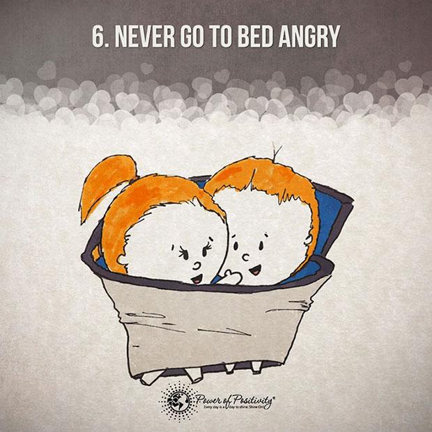 อย่าเข้านอนทั้งที่ยังอารมณ์คุกรุ่น