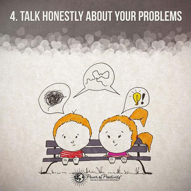 เปิดอกคุยกันเรื่องปัญหาต่างๆ