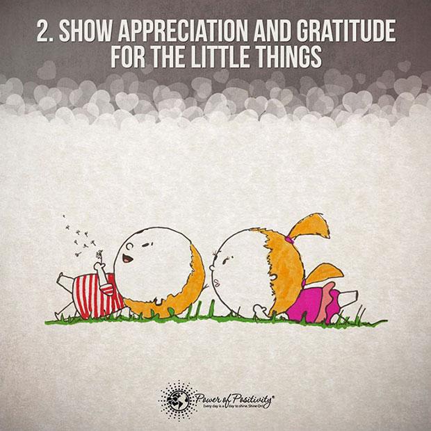 แสดงความขอบคุณต่อสิ่งเล็กๆน้อยๆ