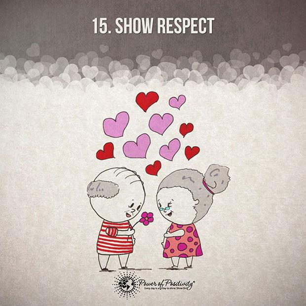 ให้ความเคารพซึ่งกันและกัน