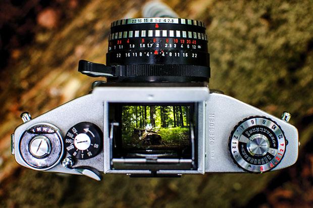 กล้องอนาล็อกโบราณ