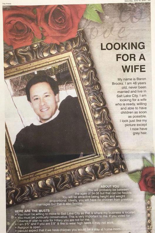 คุณพ่อกลัวลูกชายขึ้นคานเลยลงโฆษณาหาคู่ในหนังสือพิมพ์ให้