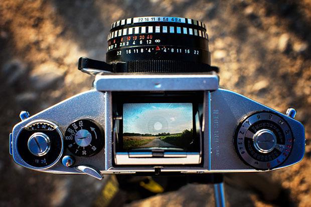 ช่องมองภาพของกล้องอนาล็อก