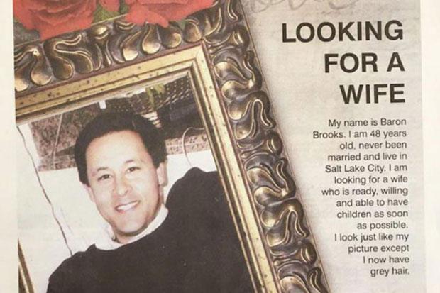 พ่อกลัวลูกขึ้นคานเลยลงโฆษณาหาคู่ในหนังสือพิมพ์