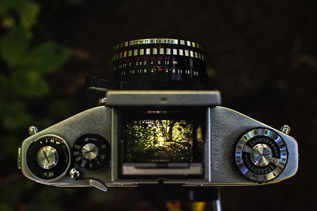 รูปถ่ายจากกล้องอนาล็อกโบราณ