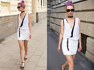สร้อยคอ RAI Fashion, เดรส Alexander Wang