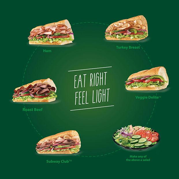 อร่อยแถมได้สุขภาพกับเมนูแซนด์วิชและสลัดไขมันต่ำ