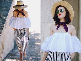 เสื้อ SammyDress, กางเกง Zara, กระเป๋า Furla, รองเท้า Zara, แว่นตากันแดด Christian Dior