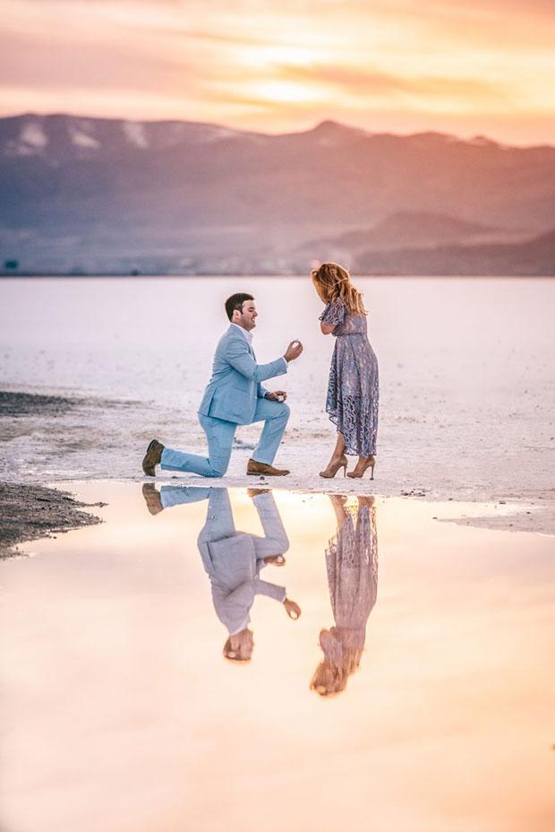 การขอแต่งงานที่แสนอบอุ่น