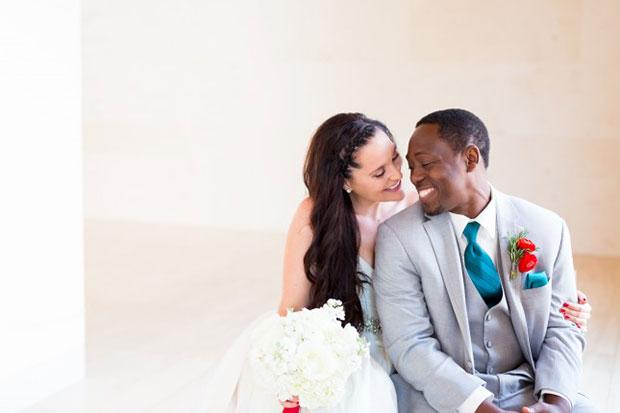 การแต่งงานสไตล์วิสคอนซินที่เน้นสดใส เก๋ไก๋ ล้ำสมัย