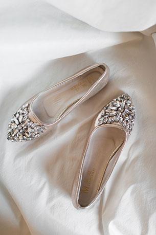 การแต่งงานสไตล์วิสคอนซิน รองเท้าเจ้าสาว