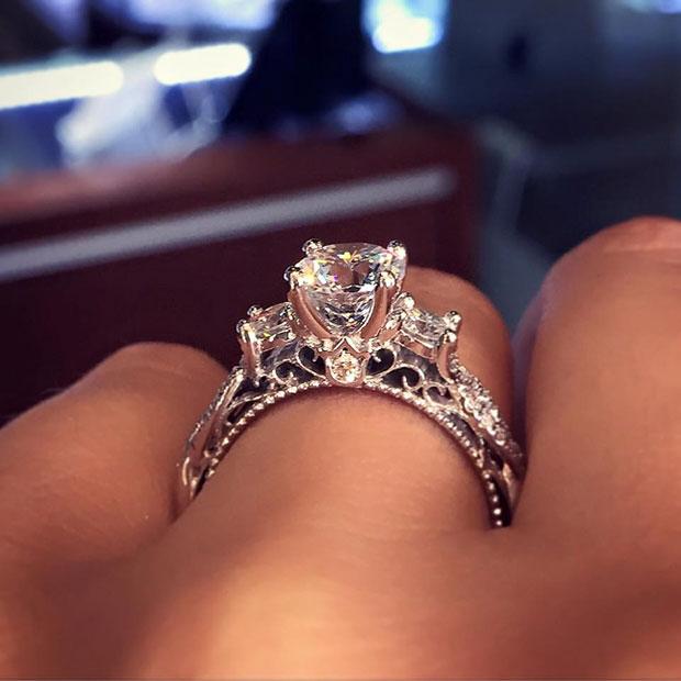 นี่คือแหวนหมั้นที่ได้รับความนิยมสูงสุดใน Pinterest