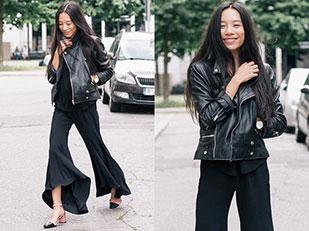 เสื้อ COS, รองเท้า Topshop, กางเกง Zara, นาฬิกา Cluse