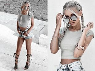 แว่นตากันแดด ZeroUV, รองเท้า Solewish, กำไล Rings & Tings