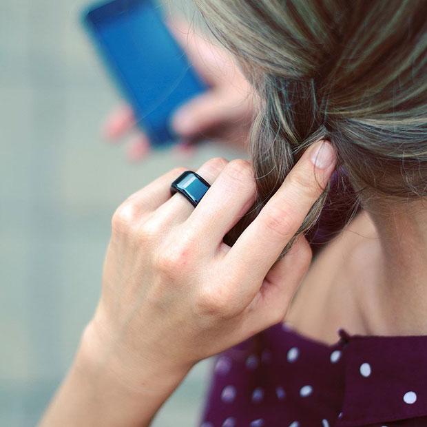 แหวนจับการเต้นหัวใจของคนรัก