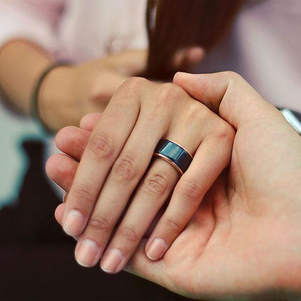 แหวนจับจังหวะการเต้นของหัวใจ