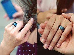 แหวนที่จับจังหวะการเต้นของหัวใจคนรักได้