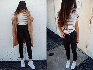 เสื้อ New Dress, แจ็คเก็ต Sammydress, รองเท้า Nike