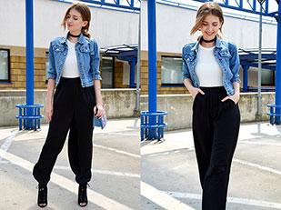 แจ็คเก็ต Sh, กางเกง New Yorker, เสื้อ Bershka, กระเป๋า Mohito