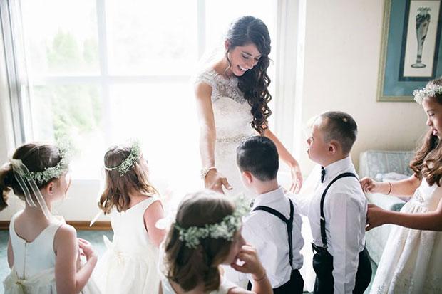 ครูเชิญนักเรียนดาวน์ซินโดรมร่วมงานแต่งงาน