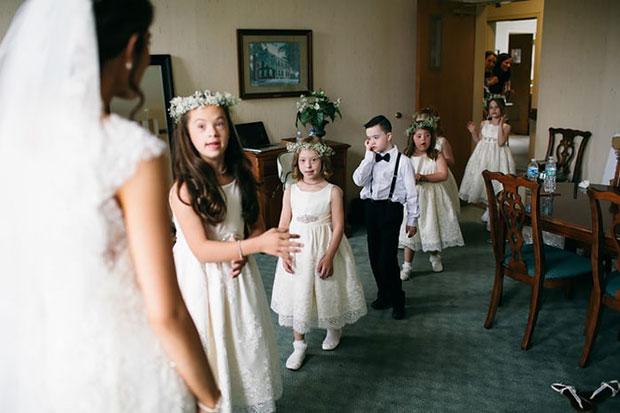 ครูเชิญนักเรียนดาวน์ซินโดรมไปงานแต่งงาน