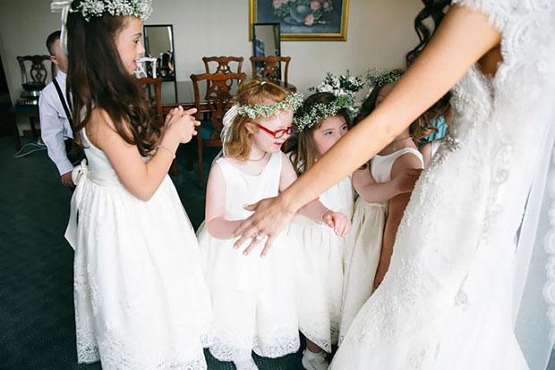 นักเรียนดาวน์ซินโดรมในวันแต่งงานของคุณครู
