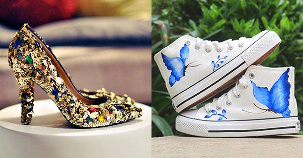 สร้างเอกลักษณ์ให้กับรองเท้าด้วยวิธี DIY แบบง่ายๆ
