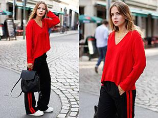 เสื้อ Zara, รองเท้า Superga, กางเกง Zara, กระเป๋า Tamaris