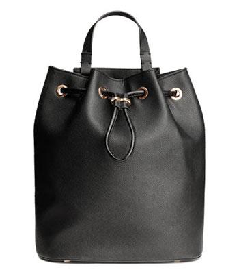 กระเป๋าเป้ทรงถังของ H&M