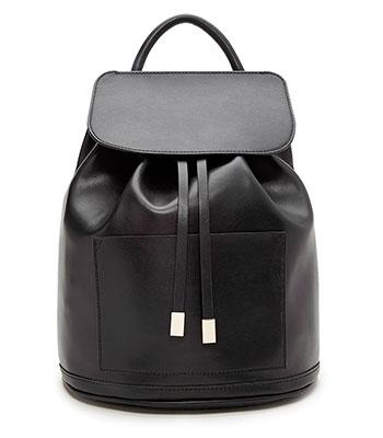 กระเป๋าเป้หนังเทียม Flap Top ของ Forever 21