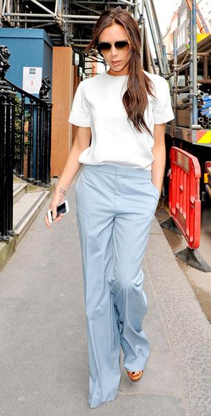 กางเกงขาบาน Victoria Beckham